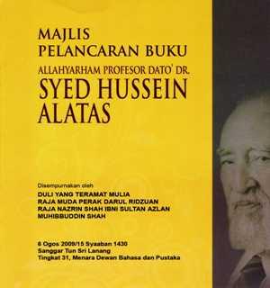 Pelancaran Buku Syed Hussein Alatas015